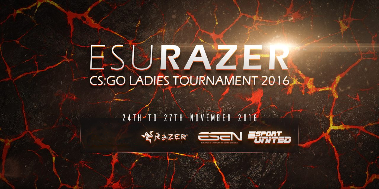 Final ESU Razer CS:GO Ladies tournament 2016