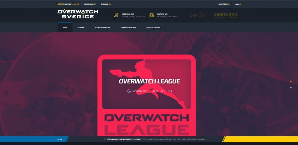 Overwatch sverige hemsida